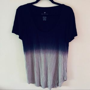 American Eagle Soft and Sexy Ombré Top